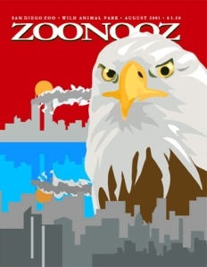 911 ZOONOOZ Magazine Cover by Ryan Gravador